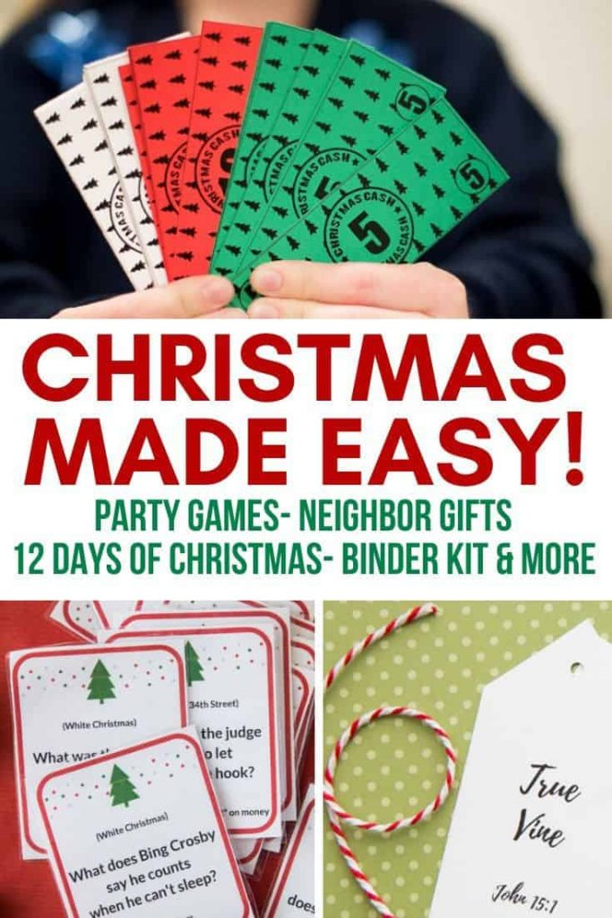 christmas kit- gift ideas- party games- 12 days of christmas and more