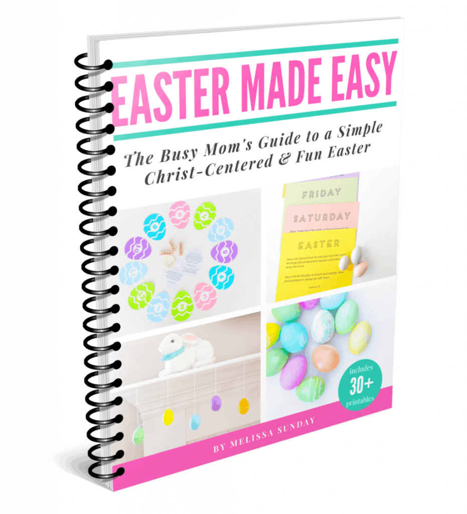 christ-centered-easter-simple-activities