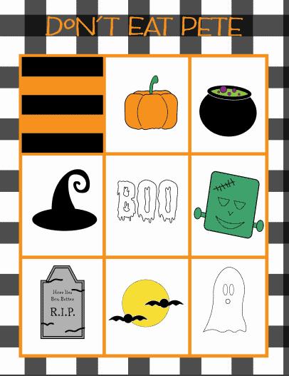 don't eat pete-halloween