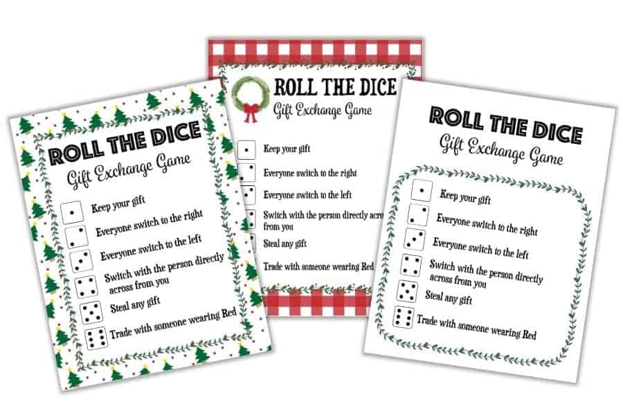 DICE-GAME-GIFT-EXCHANGE
