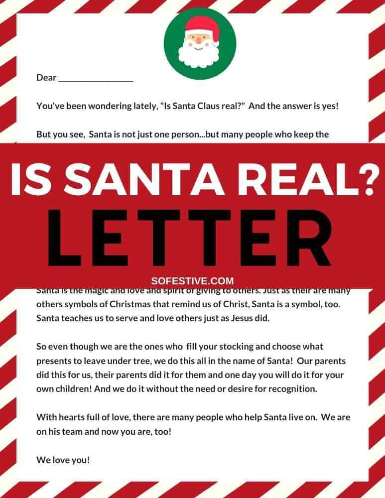 is-santa-real-letter-template